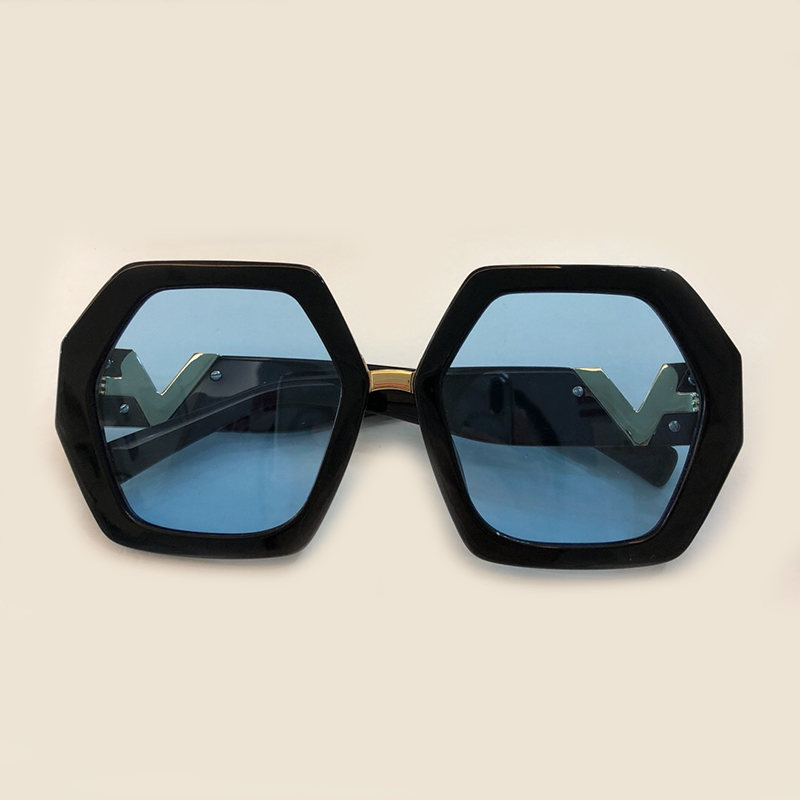 Square Sunglasses Women 2019 Oversized Big Frame Vintage Women Brand Designer Luxury New Trendy Popular Sun Glasses UV400