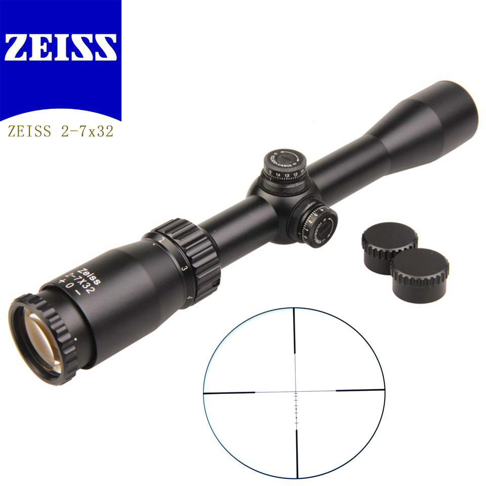 ZEISS 2-7x32 Optical Sight Rifle Scope military use Outdoor Hunting Scope Air Rifle Sniper rifle Hunting Accessories Gun Scope rifle rifle ri369ewjgh52