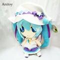 Anime VOCALOID Hatsune Miku Plush Toys Soft Stuffed Animal Dolls Kid's Gift 33cm AP0409