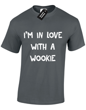 IM IN LOVE WITH A WOOKIE MENS T SHIRT FUNNY STAR TROOPER STORM WARS S - 5XL Free shipping Harajuku Tops Fashion Classic кружка star wars kiss a wookie 320 мл