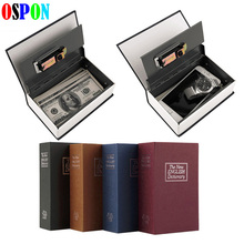 Book Safes Simulation Dictionary Secret Metal Steel Cash Secure Hidden Piggy Bank Money Jewelry Storage Collection Box Size XS