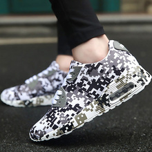 Camouflage Men Vulcanize shoes Fashion Size large 6-12.5 Casual sneakers for man Comfortable Antiakid Male shoes