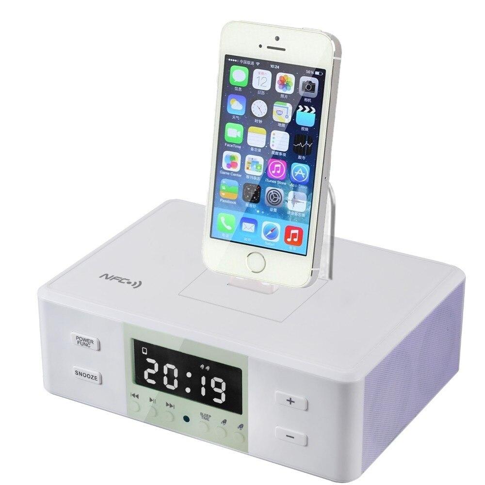 online kaufen gro handel ipod dockingstation uhr aus china. Black Bedroom Furniture Sets. Home Design Ideas
