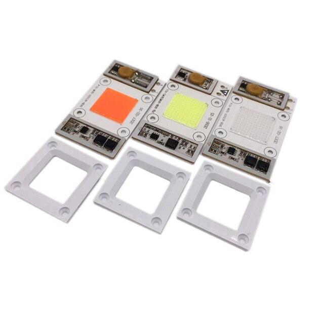 50W 110V /220V AC High Power led chip built-in driver Warm white Cool White 10000 20000 30000k Full Spectrum Royal blue LED 5PCS