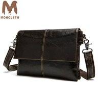 MONOLETH High Quality Men's Durable Vintage Canvas Messenger Bags Travel Many Handbags Men Shoulder Bags Male Big