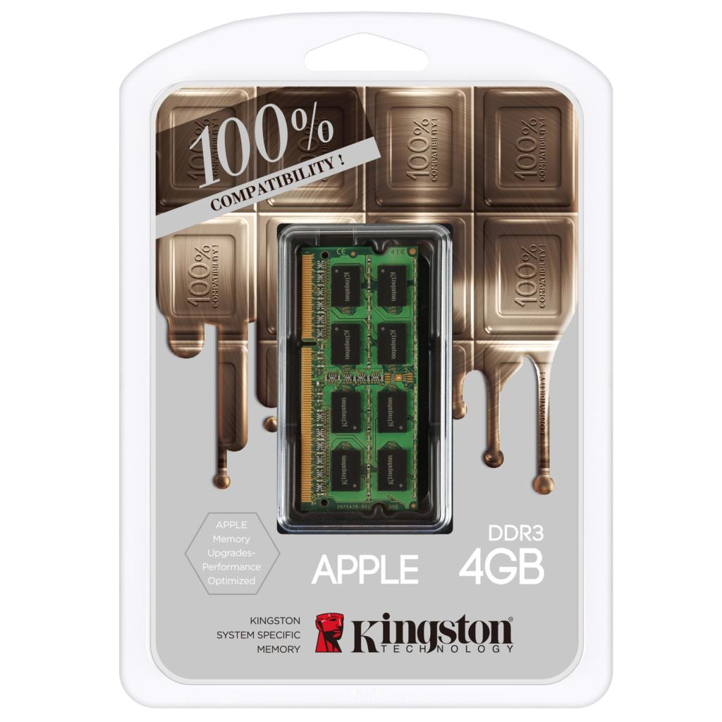 ФОТО Kingston for APPLE brand notebook computers dedicated memory 100% compatible 4GB 8GB DDR3 1600MHz 1.35 V low voltage 4g 8g ram