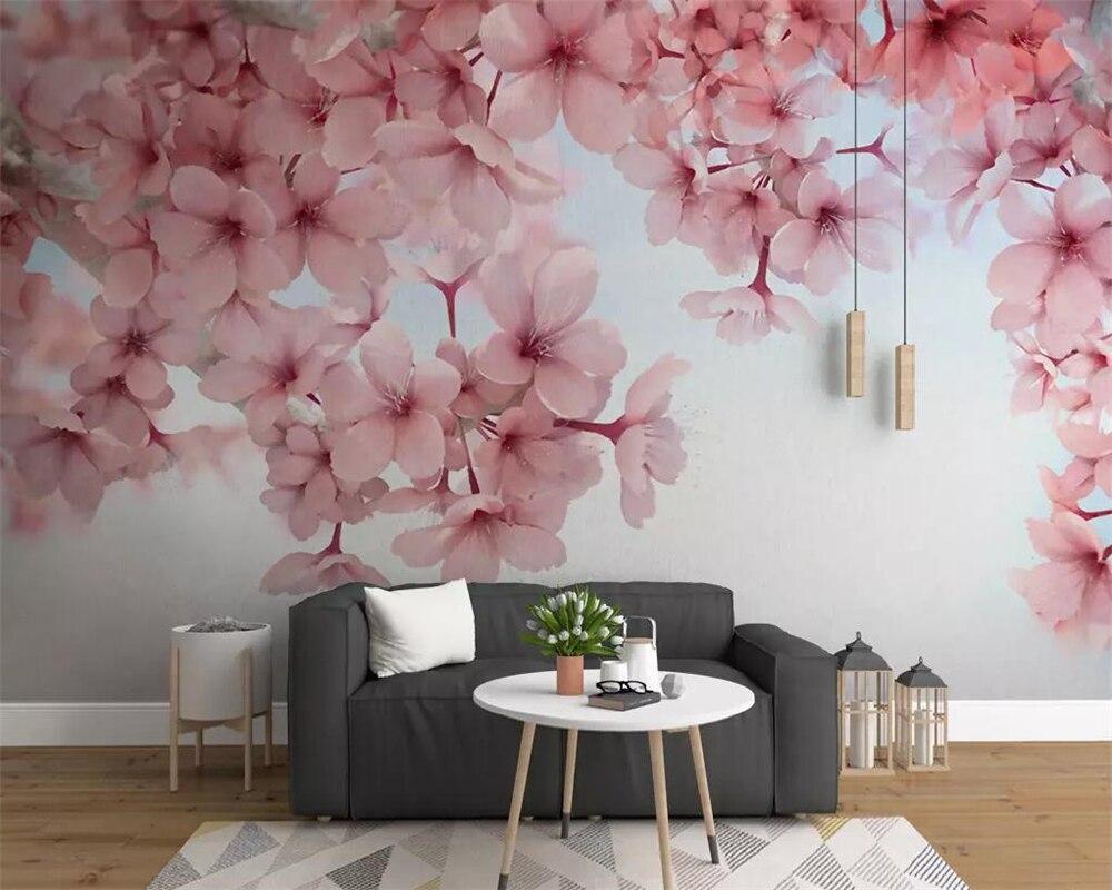Beibehang 3d Photo Custom Wallpaper Mural Romantic Modern