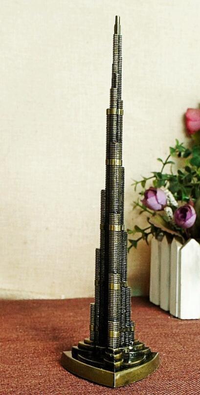 Touristique souvenir alliage khalifa Alliage Harry tour Burj Dubaï Manoir SDI tour modèle décorations monde