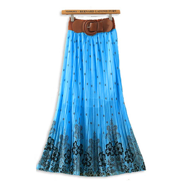Ladies long skirt and tops – Modern skirts blog for you