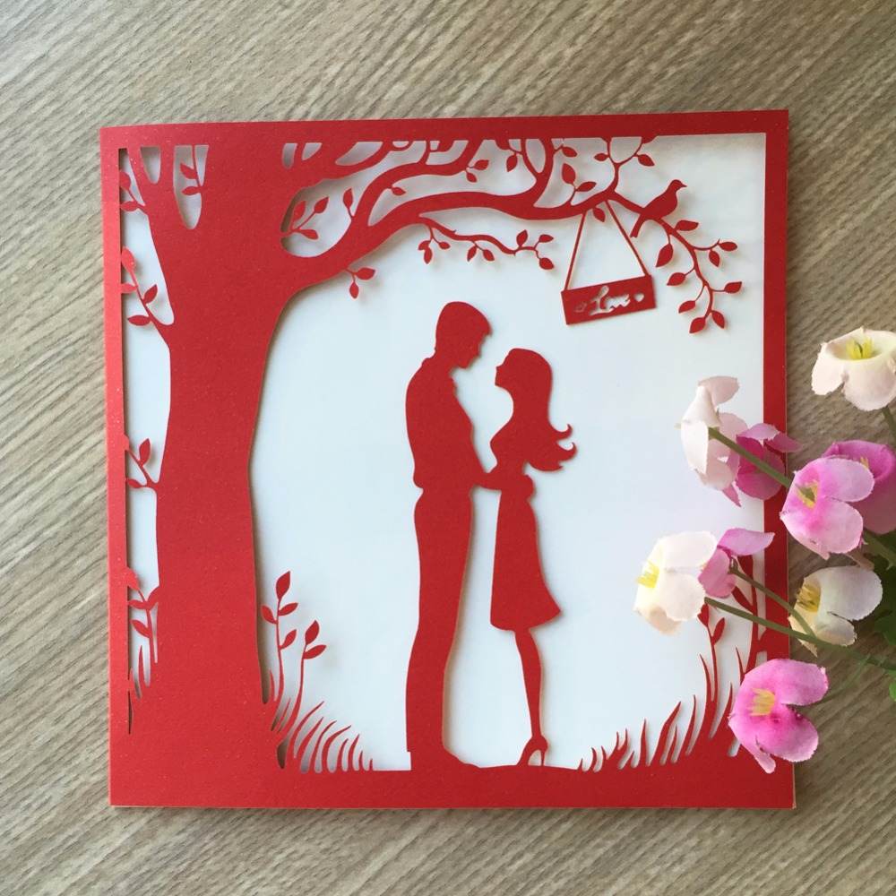 Buy letter wedding invitation and get free shipping on AliExpress.com