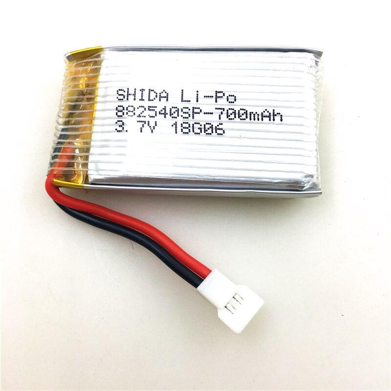 3,7 v 700 mah Lipo Batterie für XK K124 RC Hubschrauber Ersatzteile XK K124 Batterie
