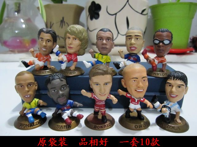 figure model ornament soccer star gift 10pcs/set ...