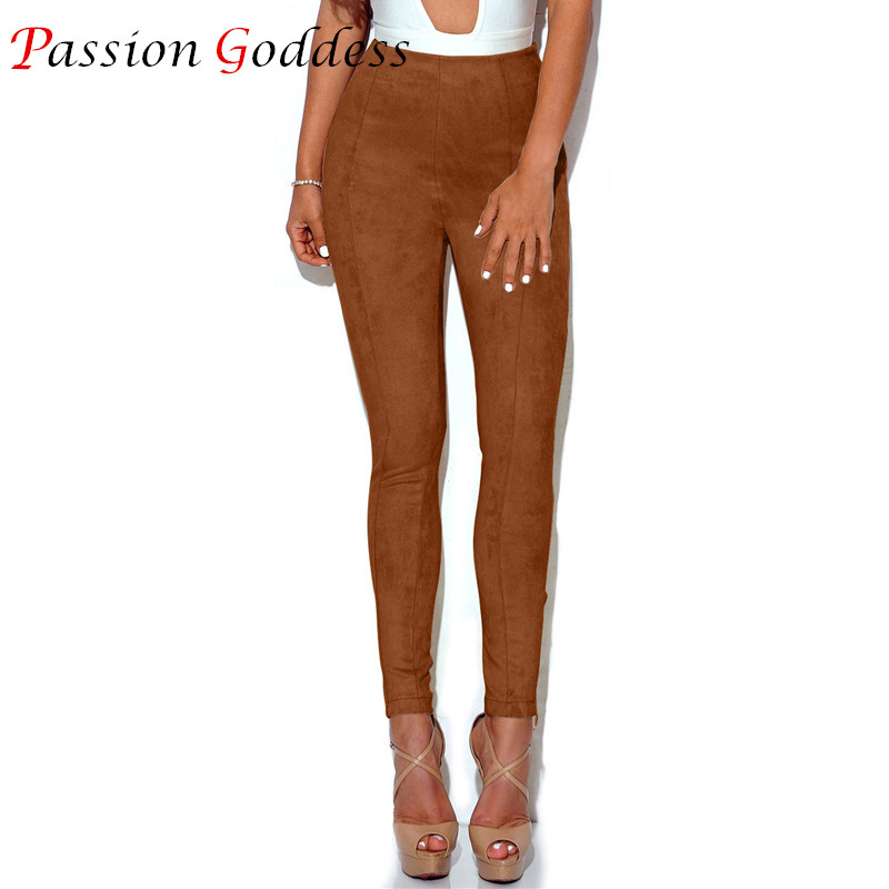 Popular Leather Suede Leggings-Buy Cheap Leather Suede Leggings ...