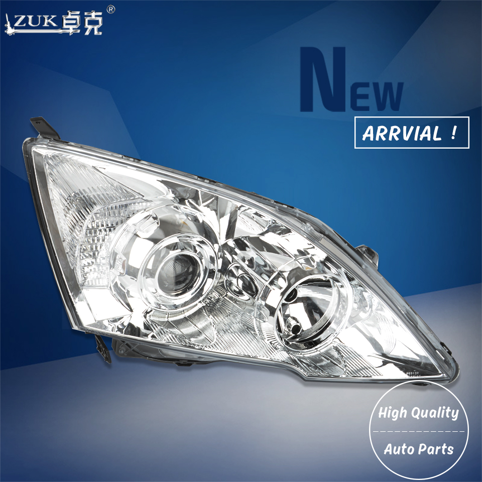 ZUK 2PCS High Quality Left Right Front Headlight Headlamp Head Light Lamp For HONDA CRV 2007