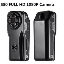 Free shipping!S80 HD 1080P Hands-free 120 degree Digital Camcorder Video Recorder Camera Car DVR