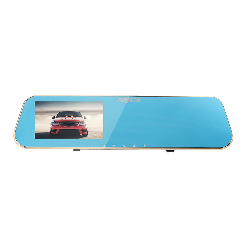 N8 HD 1080P Car DVR 4.3 Inch Rearview Mirror Video Recorder Dual Lens Camera