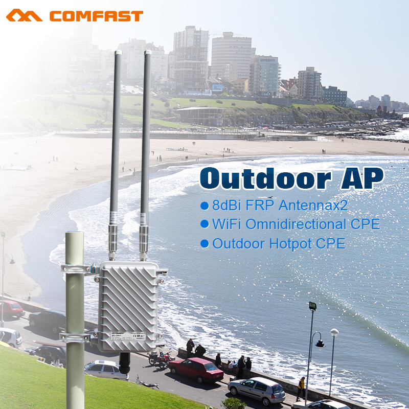 COMFAST HIGH Power Omni Directional Wireless AP Outdoor WiFi Coverage Base Station Wireless Router For School Park Wifi CF-WA700