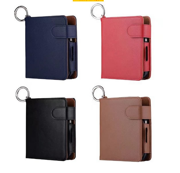 PU Leather Box Holder Storage Anti Scratch Full Protective Carrying Bag Case for iQOS Electronic Cigarette