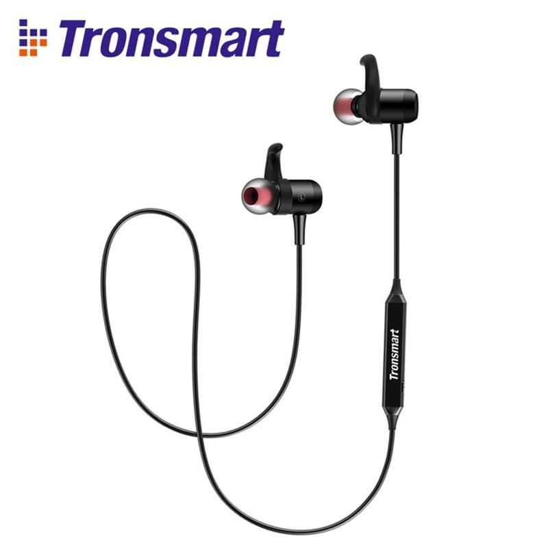 Original Tronsmart Encore S1 Bluetooth Headset HiFi High Fidelity Apt-x Wireless Headset For Mobile Gaming Headphones for Game