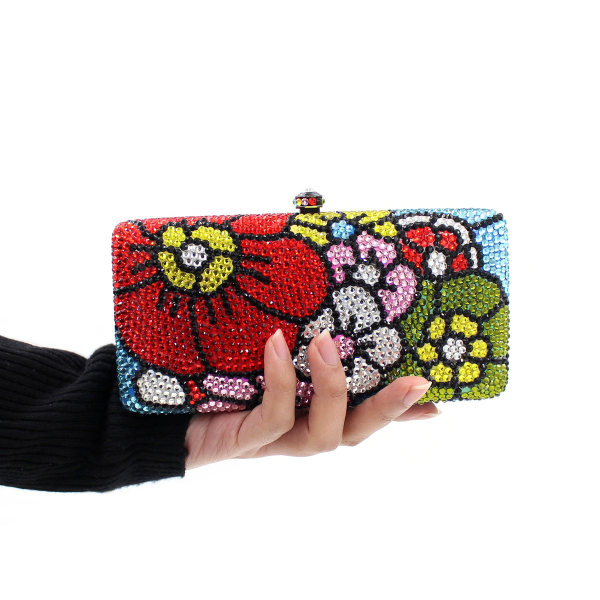 2017 New Fashion Colorful Day Clutches Bag Ladies Single Shoulder Handbag Luxury Diamonds Bride Wedding Party Evening Bags Purse  2017 new luxury diamonds women day clutches bag ladies single shoulder handbag bride wedding party evening bags handbags purses
