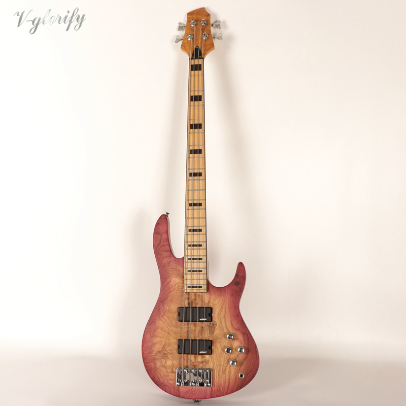 factory 4 string active bass guitar high quality in guitar from sports entertainment on. Black Bedroom Furniture Sets. Home Design Ideas