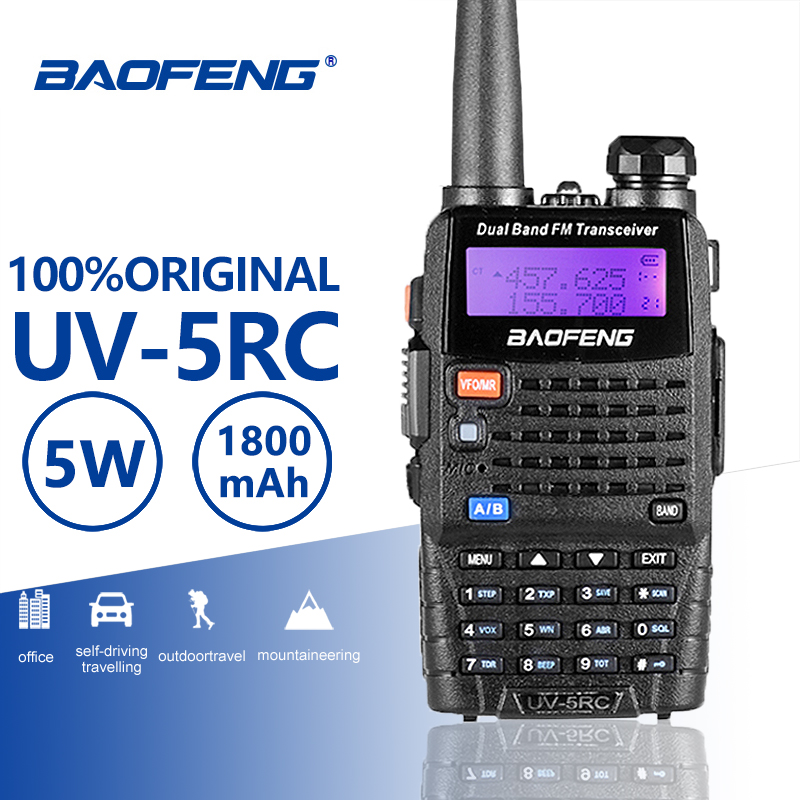 Baofeng UV-5RC Walkie Talkie VHF UHF136-174Mhz&400-520Mhz Dual Band Two Way Radio Baofeng UV 5R Plus Portable Walkie Talkie UV5R