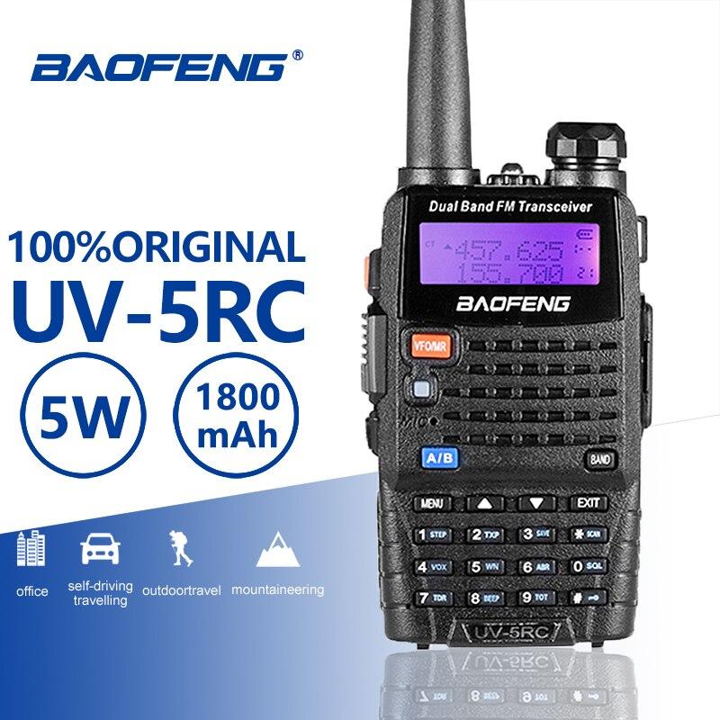 Baofeng UV-5RC Walkie Talkie VHF UHF136-174Mhz&400-520Mhz Dual Band Two Way Radio Baofeng UV 5R Plus Portable Walkie Talkie UV5R