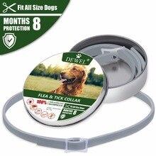 Отправить EPacket Dewel ошейник для собак против блох комаров клещей насекомых водонепроницаемые травяные аксессуары для собак