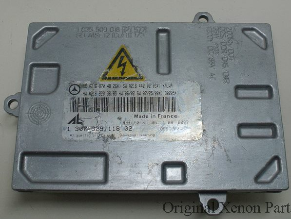 Used original 4PIN Xenon Headlight Ballast Control Module W216 D1S D1R 130732911802 1 307 329 118