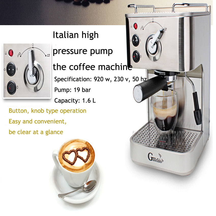 1pc 19 Bar Espresso Machine, most popular semi-automatic Espresso coffee Machine,pressure espresso coffee machine