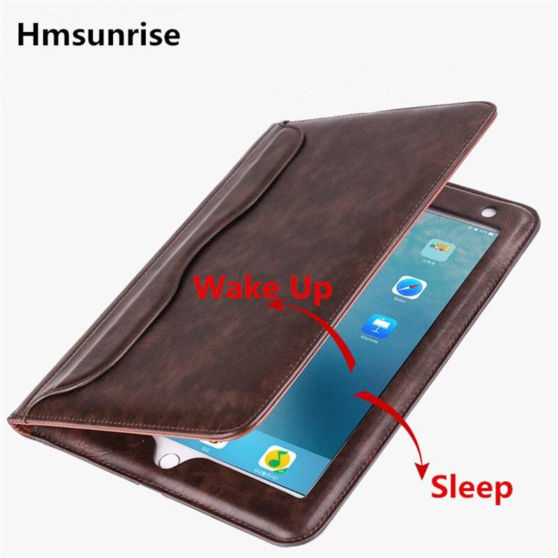 Hmsunrise Leather Case For apple ipad mini 2 Ultra Thin Folio Flip Smart Cover Auto Wake Sleep for ipad mini 1/2/3 датчик lifan auto lifan 2