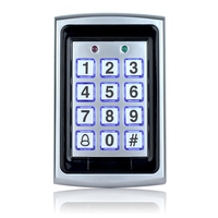 Free Shipping 7612 Metal Rfid Access Control Keypad Support 1000 Users 125KHz ID Card Reader Electric Digital Password Door Lock