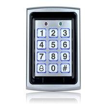 OBO Metallo Rfid Tastiera di Controllo di Accesso di Controllo di Accesso Lettore di Supporto della Scheda di 1000 Utenti 125KHz Digitale Elettrico Password di Blocco