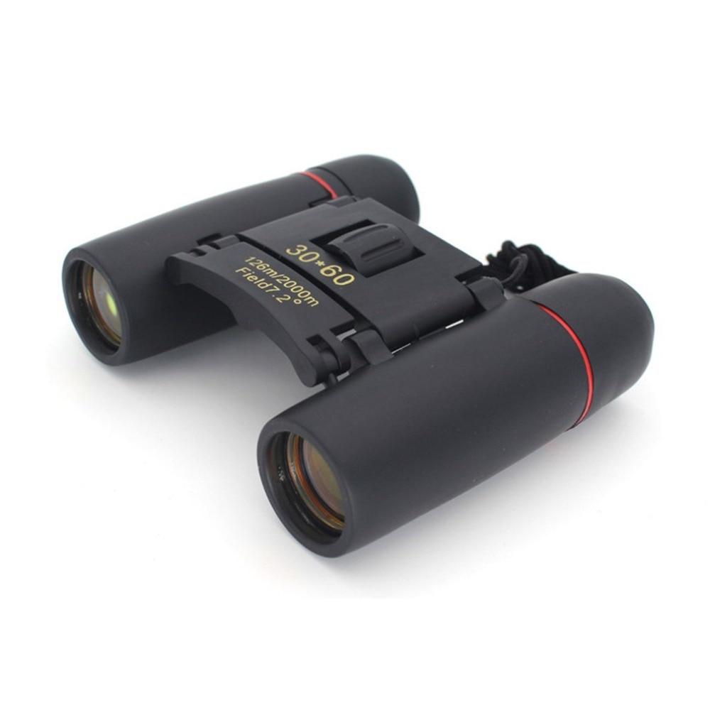 Dia Binóculos de Visão Noturna HD 30x60 Zoom Telescópio Viagem Ao Ar Livre Caça Camping Folding Telescópio