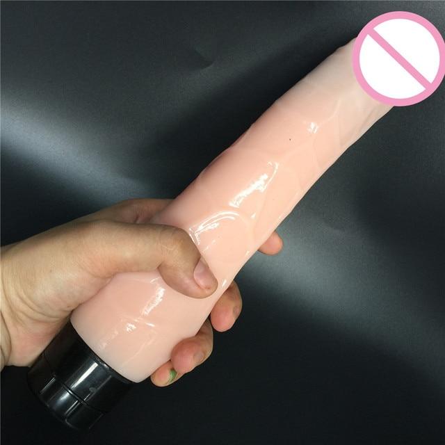 9.85 inch multispeed vibrating dildo woman long penis realistic woman huge super big size dildo sex toy sex product sex shop