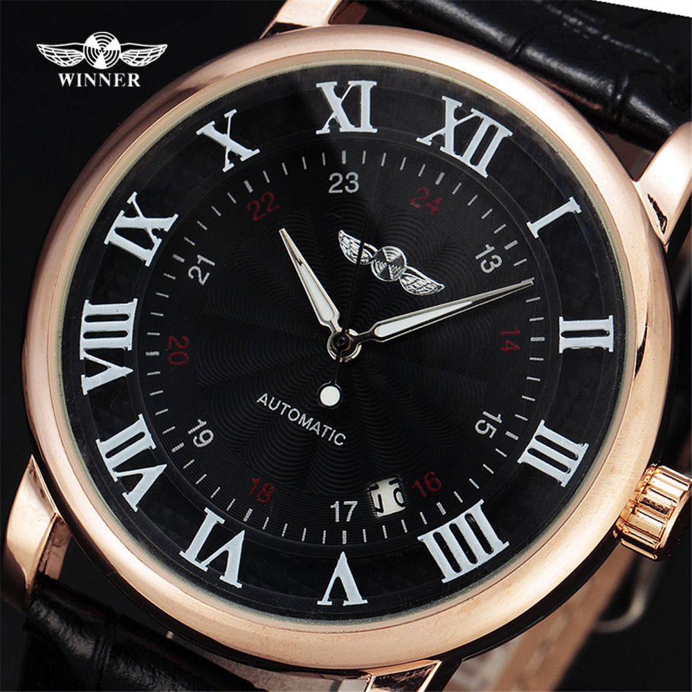 Top Brand WINNER Φόρεμα Αυτόματη Μηχανική - Ανδρικά ρολόγια - Φωτογραφία 1