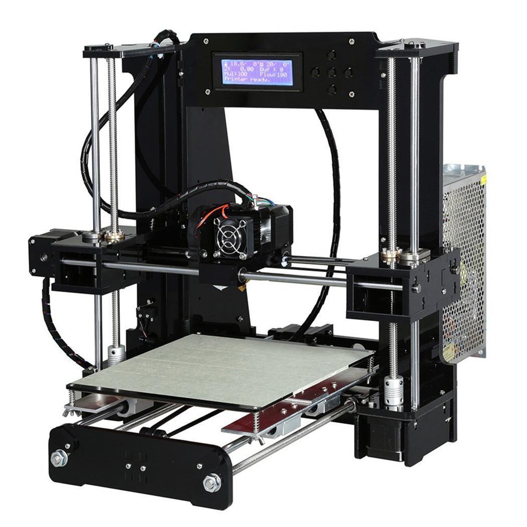 A6 LCD moniteur écran 3D imprimante grand répétiteur-hôte 25 STL, g-code 100 MM/S impression 1.75 MM zone 1 DC 12 V/20A