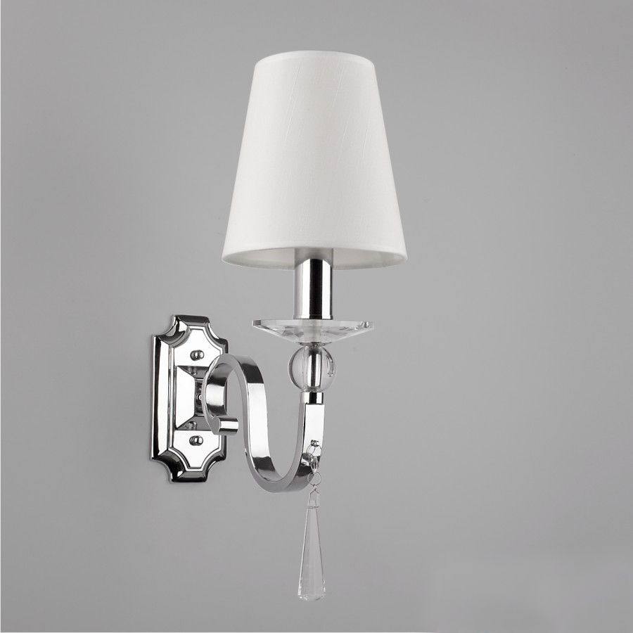 - exquisite crystal decoration single wall lamp