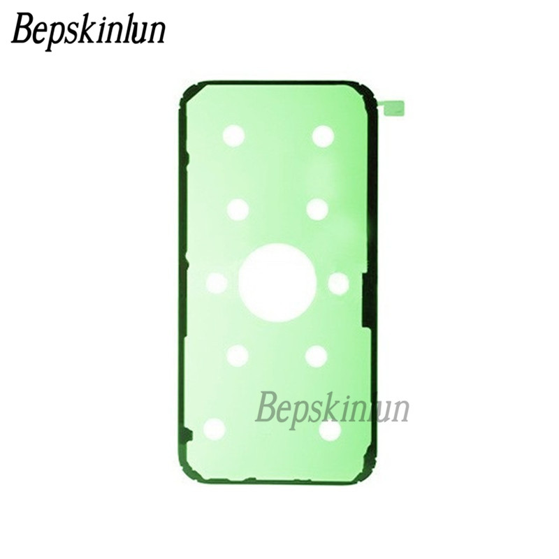 Bepskinlun 2pcs/Lot Original Battery Door Back Cover Adhesive Glue Tape Sticker for Samsung Galaxy A7 (2017), A720F, A720F/DS
