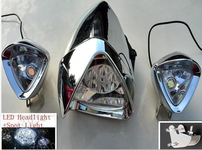 "5.75/"" LED Headlight with Angel Eye DRL for Suzuki Intruder Marauder Boulevard"
