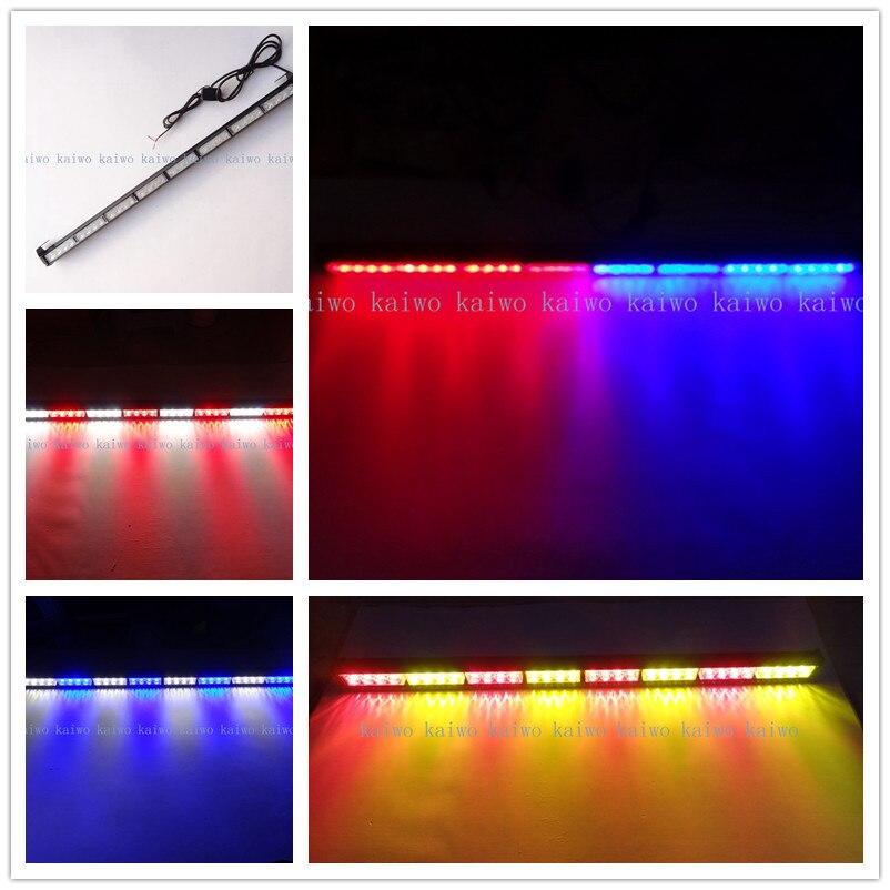 ФОТО new 36inch DC12V   09020 Warning lights  bar lights  32 LED flash rover lights rear brake lights zone bar lights