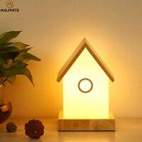 Современная настольная лампа для гостиной Декор Светильник Детские хижины настольные лампы для спальни прикроватная стеклянная лампа Отт