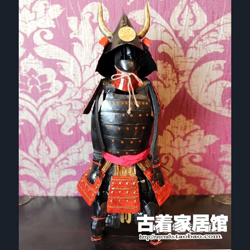 ▻Armadura de samurai japonés/bar decoración Kuroda hajun casa ...