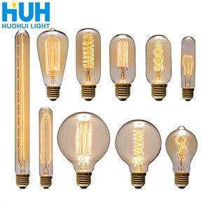 Vintage Edison Bulb E27 40W Re