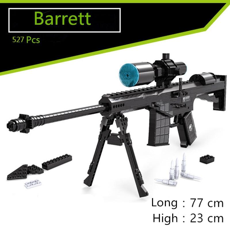 SWAT Building Block Toys GUN M16 technic Arms Model Assembled Brick Set Weapon Legoe Compatible boy Toy Building Block цена