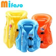 Mifaso/летние детские кольца-поплавок из ПВХ спасательный круг/купальный жилет надувная одежда для купания/сиденье для малышей безопасный плавательный инструмент