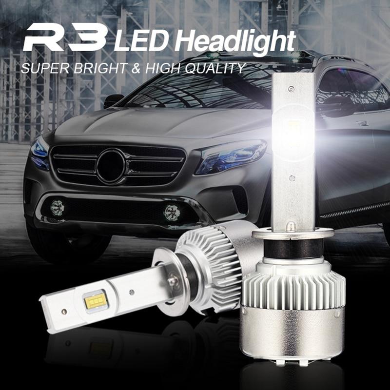 JGAUT Car Light H4 H1 H7 9005 9006 H3 880 H11 H8 H9 12000LM 12V LED Headlight Kit 6500K Bulbs Lamps Conversion Fog Lights TurboJGAUT Car Light H4 H1 H7 9005 9006 H3 880 H11 H8 H9 12000LM 12V LED Headlight Kit 6500K Bulbs Lamps Conversion Fog Lights Turbo