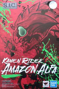 Image 5 - 100% Original BANDAI GEISTERN Tamashii Nationen SIC/SUPER IMAGINATIVE CHOGOKIN Action Figure Kamen Rider Alpha