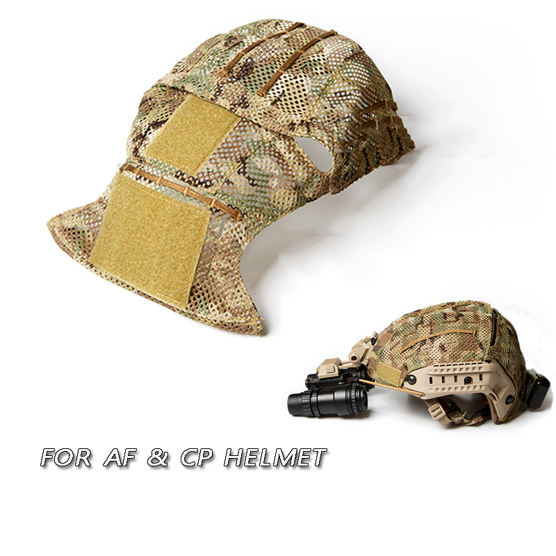 TB-FMA Tactical Multicam Helmet Cover for AF CP Tactical Helmets Protective Cover MC Camouflage Color Helmet Cloth Free Shipping