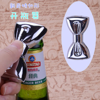 wedding gift and giveaways for guest Black Tie bottle Opener Creative Gifts bridal gifts Red Wine Opener 1 piece